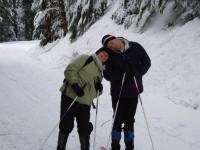 Highlight for Album: Skiing at Rainier - January 2008